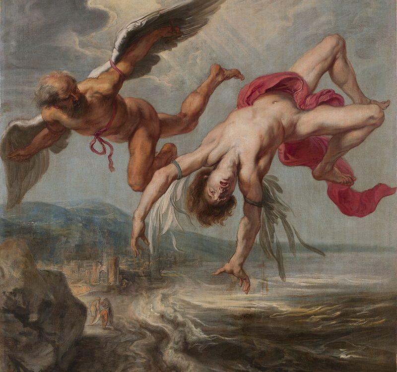 A caída de Ícaro
