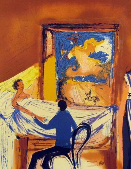 The doctor, Salvador Dalí